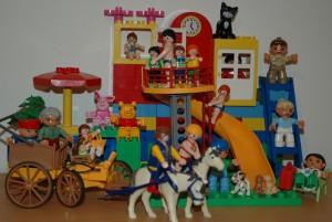 lego és playmobil együtt