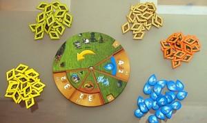 a játékkerék és az ellátmány