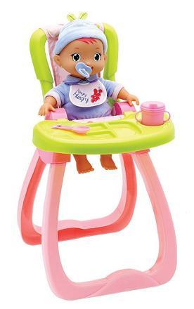 Etetőszék Ringass el Poci babával
